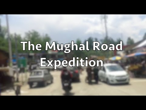 Mughal Road, Kashmir in TimeLapse