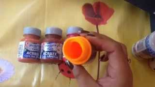 Como manter as tintas perfeitas para a pintura com Cony
