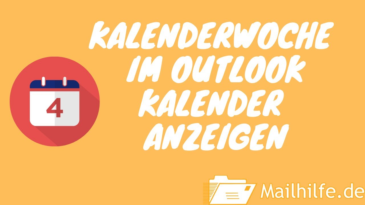 outlook kalenderwoche