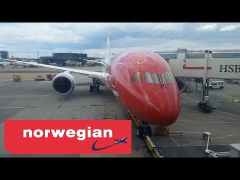 Norwegian air flight to Orlando