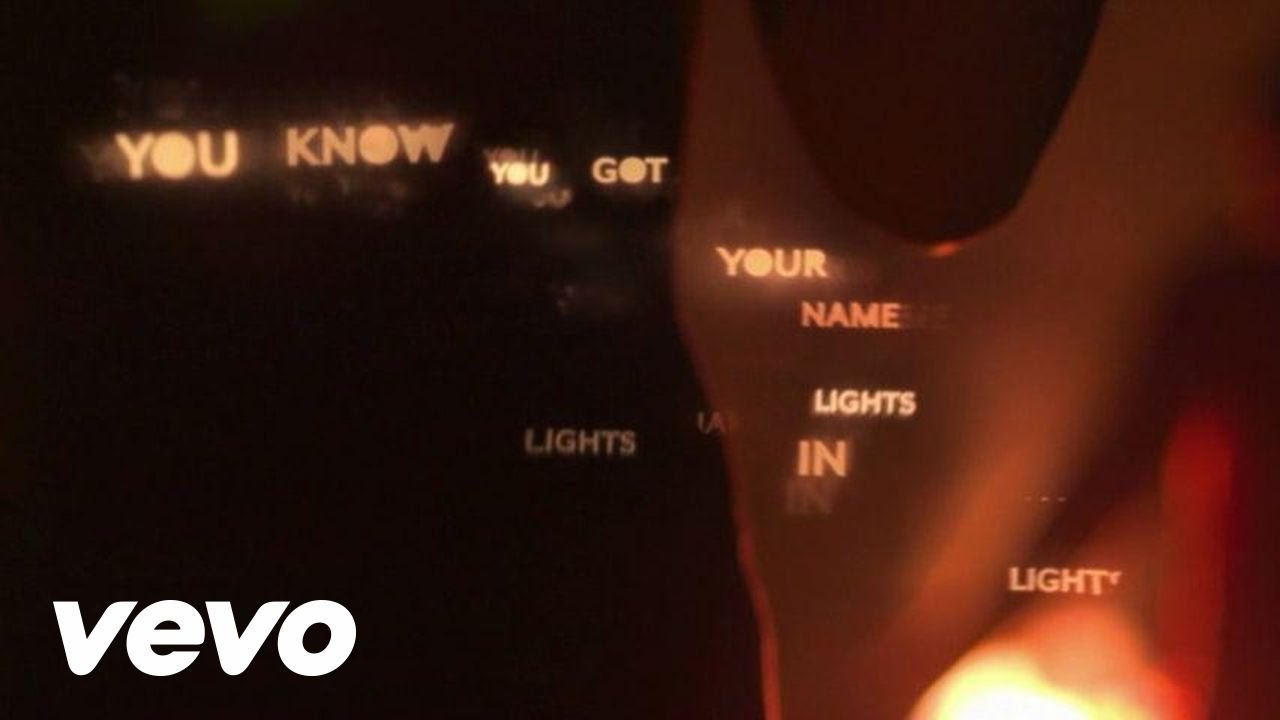 Little Daylight   Name In Lights (Lyric Video)