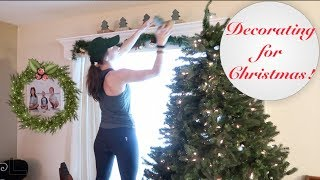 Decorate for Christmas With Me 2018!  Putting Up The Tree - Spending a week doing so...