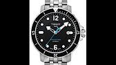Tissot 2S Seastar - как разобрать наручные часы и обзор - YouTube