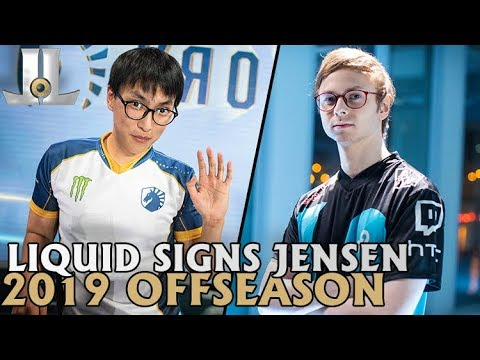 Liquid Signs Jensen, What's Next for Cloud9? | 2019 LoL Offseason