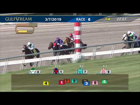 Gulfstream Park March 7, 2019 Race 6
