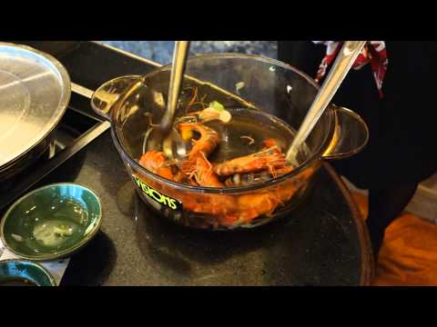 GRAPHIC: Cooking Shrimp Alive  - Canton, China