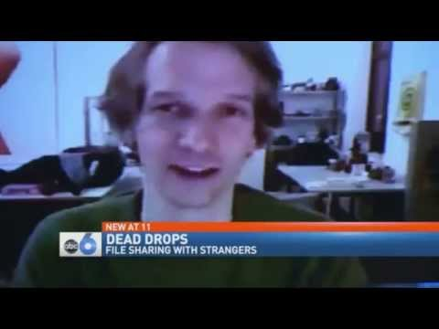 'Dead Drops' High-Tech Scavenger Hunt Has People Searching for File-Sharing