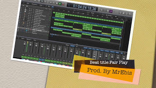 Fair play - AFROBEAT (NAIJA) ON LOGIC PRO X (Free Beat Download)