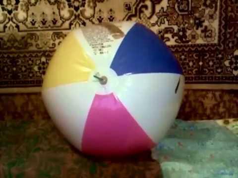 Beachball deflate (part.2)