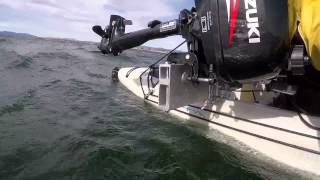 Hobie TI outboard mount
