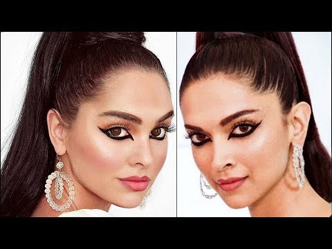 I Tried To Recreate Deepika Padukone's cannes 2019 Look | Makeup & Hair Tutorial Mp3