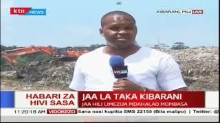 Hali ilivyo katika jaa la Kibarani baada ya amri ya Rais Kenyatta