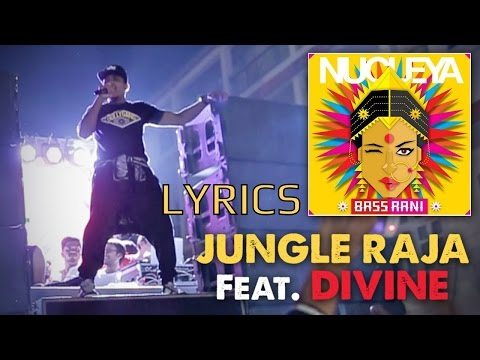 Divine - Jungle Raja LYRICS / Lyric Video | #GullyGang