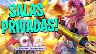 SALAS PERSONALIZADAS con SUSCRIPTORES! Ven a jugar Creative Destruction PC - EE.UU