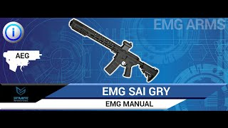 EMG Salient Arms International GRY - AEG - Manual