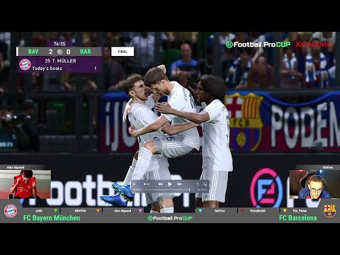 Highlights Knockout Stage Final  | FC Bayern Esports – FC Barcelona | eFootball.Pro CUP