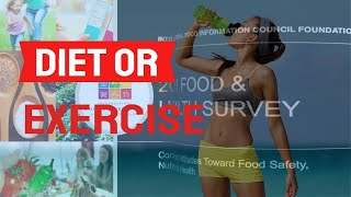 Diet Or Exercise For Weight Loss
