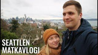 MAAILMAN EKA STARBUCKS JA TWIN PEAKSIN KUVAUSPAIKAT | Seattlen matkavlogi