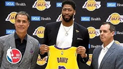 Anthony Davis introduced by the Los Angeles Lakers | NBA