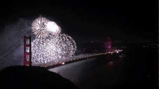 From Amazing view Golden Gate Bridge 75th Anniversary Fireworks HD