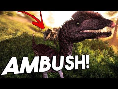 The Isle - Birth of the Dilophosaurus! | A Full Official Server Progression Saga
