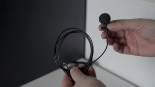 Shure SM93 Lavalier Microphone Review and Test