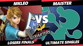 Captain's Quarters Losers Finals - T1 | MkLeo (Link) Vs. SSG | Maister (Game & Watch) SSBU Singles