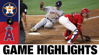 Kyle Tucker tallies 4 RBIs in Astros win | Astros-Angels Game Highlights 7/31/20