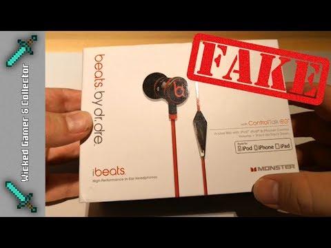 WildChild83 - Bootleg WARNING -  Beats by Dr. Dre  - IBeats / Headset / Fake Version