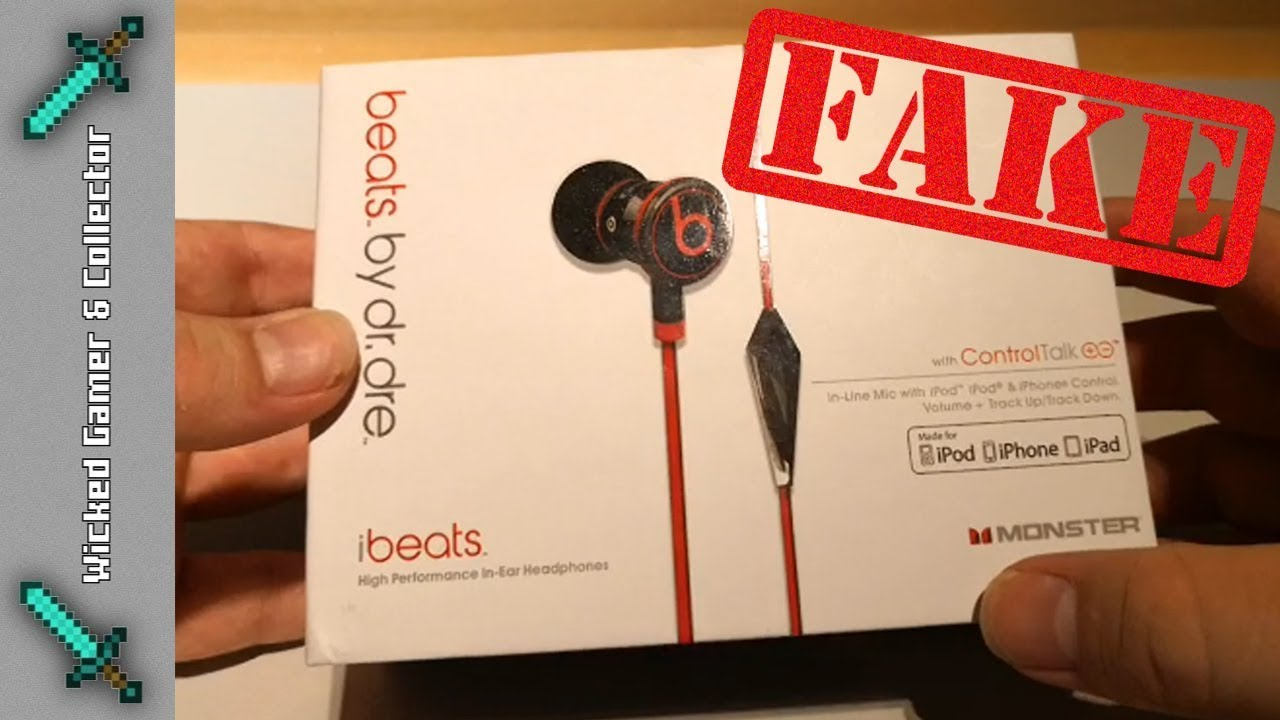 bb57c19705c WildChild83 - Bootleg WARNING - Beats by Dr. Dre - IBeats / Headset / Fake  Version