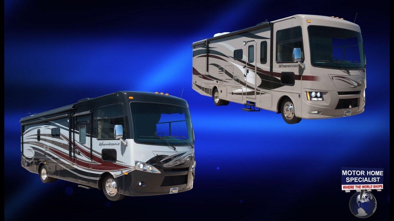 Thor motor coach hurricane windsport review 27k 32a for Best motor coach reviews