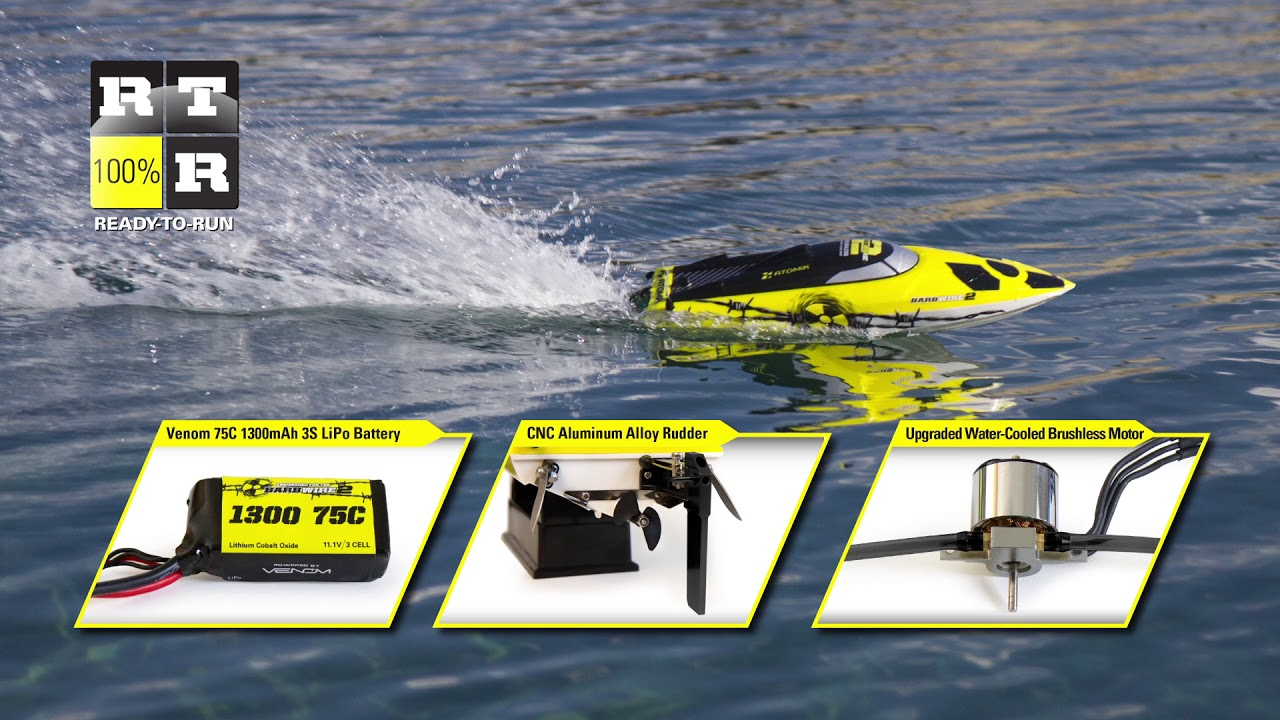 12 Best RC Boats for Sale: Your Ultimate Guide (2019