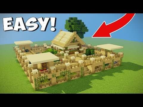 4 Player Minecraft Survival Base With Everything You Need To Survive!