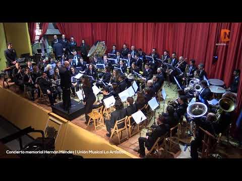 Concierto memorial Hernán Méndez Unión Musical La Artística Novelda Digital