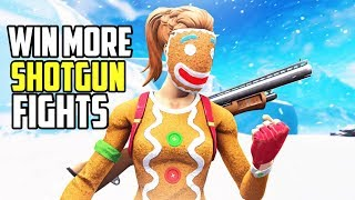 How to Win SHOTGUN Fights on Controller! (Fortnite Shotgun Aim Tips PS4/XBOX)