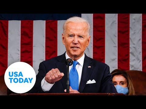 President Biden addresses Congress marking 100 days in office   USA TODAY