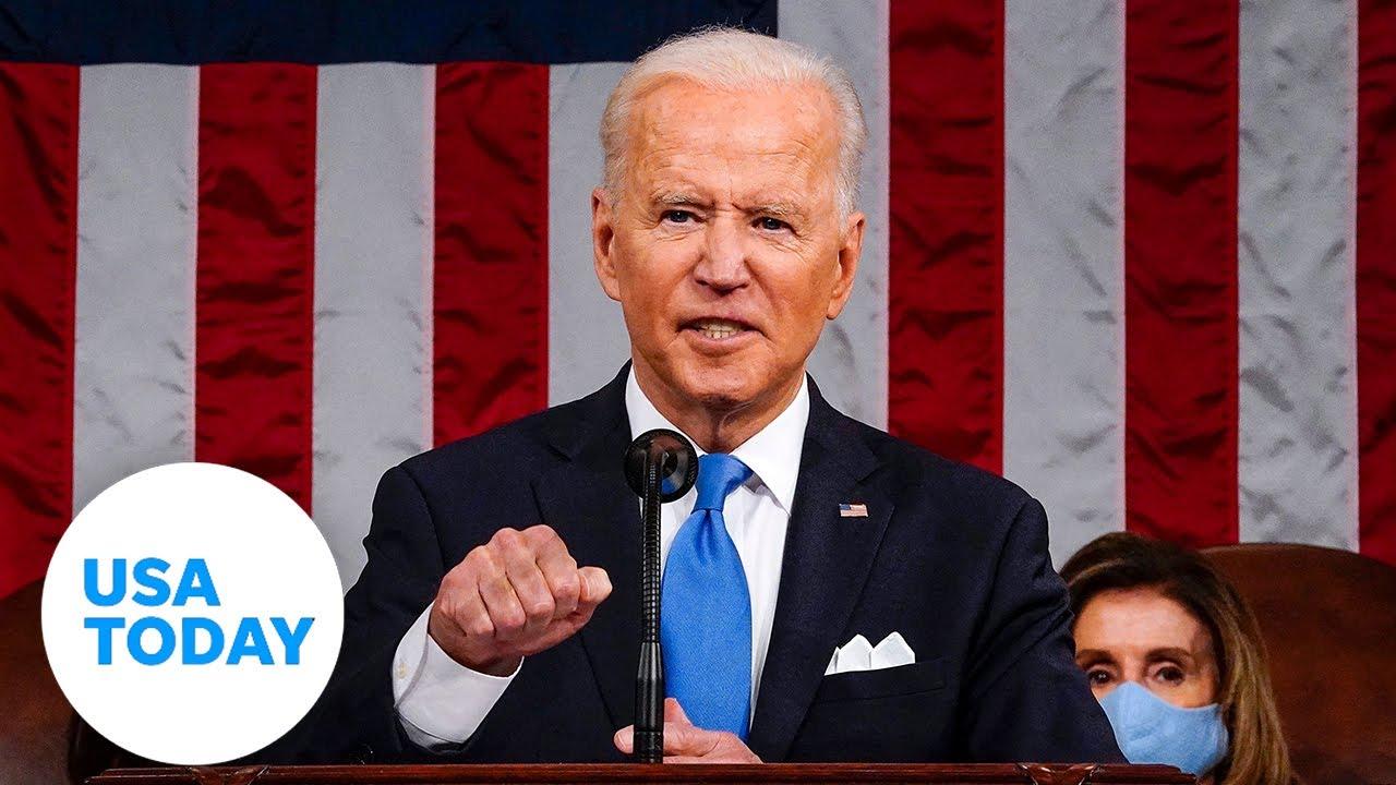 President Biden addresses Congress marking 100 days in office | USA TODAY