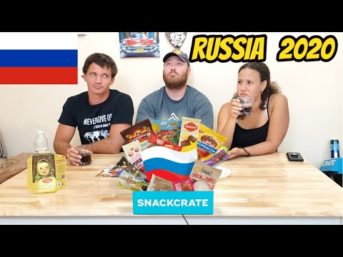 Snack Crate Unboxing