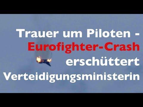 WELT DOKUMENT: Eurofighter-Crash - Von der Leyen reist zur Unfallstelle