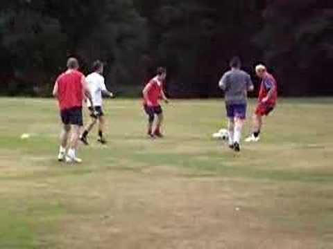 Crown Celtic football training