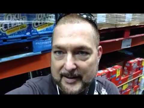 Thomas Ramsey. Shopping at Costco