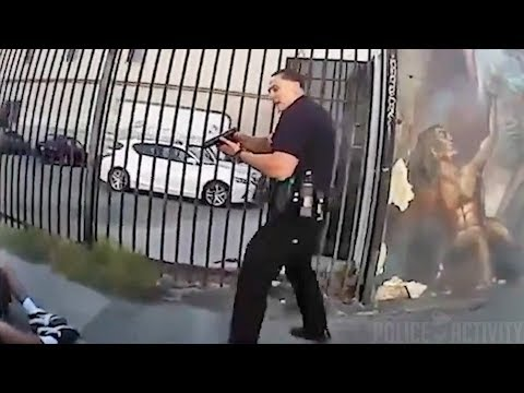 Bodycam Footage of Jesse Romero Shooting by LAPD Officer