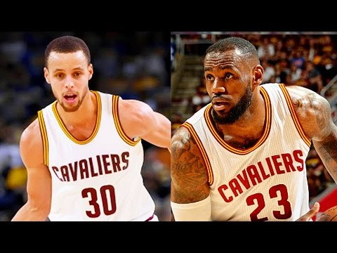 Stephen Curry and LeBron James on the Cavaliers with Kevin Durant - Stephen Curry Joins Cavaliers