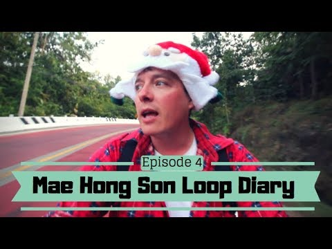 HOW TO TRAVEL THAILAND SOLO – A Backpacking Vlog Series – Mae Hong Son Loop – #4 Amazing Roads
