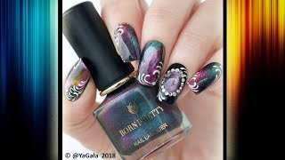 Born Pretty nail polishes and nail design (voice over) / Обзор лаков Born Pretty и дизайн