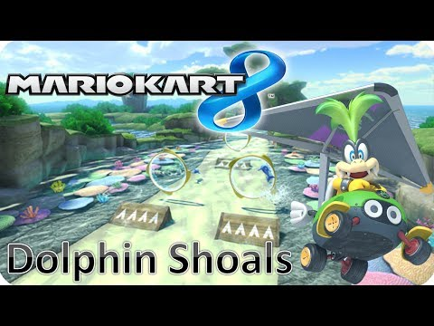 Mario Kart 8 - Time Trials: Dolphin Shoals