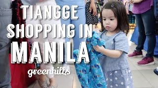 Tiangge shopping in Greenhills with Olivia | Andi Manzano