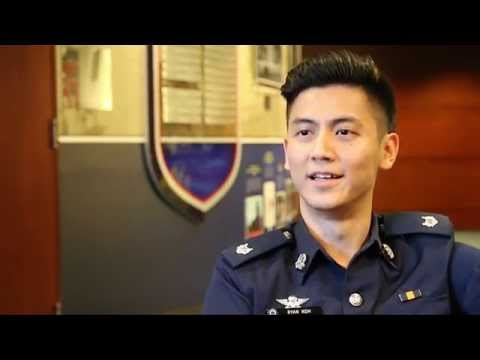 Meet the Singapore Police Force's #CardboardConstable in real life