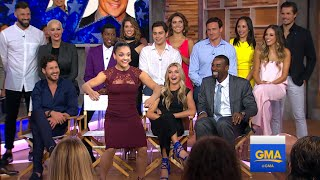 DWTS Celebs and Pro Couples Visit 'GMA'