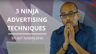 3 Ninja Advertising Techniques to Double Your Revenue